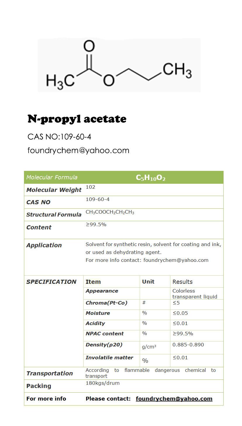 N Propyl Acetate N-propyl acetate ,NPAC...